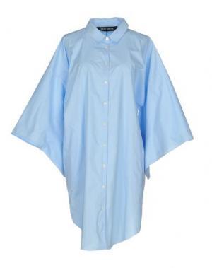 Pубашка TER ET BANTINE. Цвет: небесно-голубой