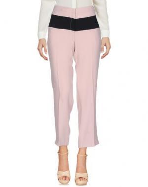 Повседневные брюки 1-ONE. Цвет: телесный