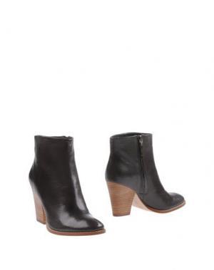 Полусапоги и высокие ботинки AERIN. Цвет: серый