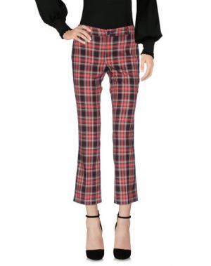 Повседневные брюки NINETTE. Цвет: красный