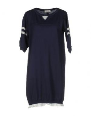 Короткое платье GUARDAROBA by ANIYE. Цвет: темно-синий