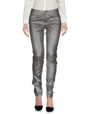 Повседневные брюки RIVER WOODS. Цвет: серебристый