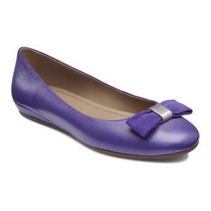 Балетки ECCO. Цвет: фиолетовый