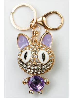 Брелок для сумки и ключей Fransua Ardy. Цвет: сиреневый, лиловый, розовый