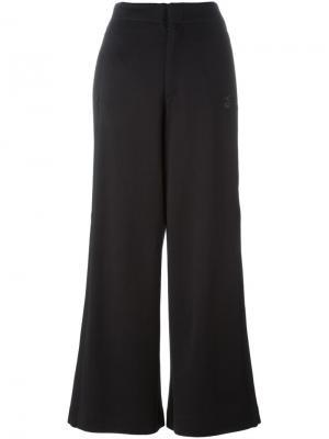 Широкие брюки Y-3. Цвет: чёрный
