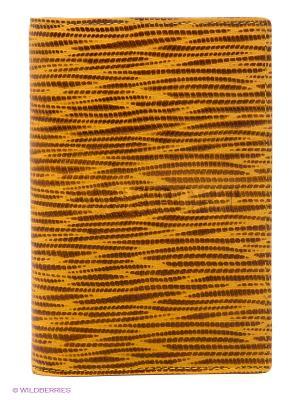 Обложка для паспорта Piero. Цвет: желтый