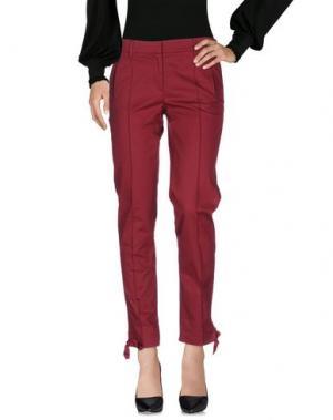 Повседневные брюки PIRELLI PZERO. Цвет: красно-коричневый