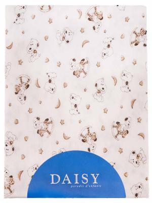 Пеленка Собачки DAISY. Цвет: светло-коричневый, бежевый, светло-бежевый
