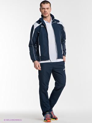 Спортивный костюм SUIT WORLD ASICS. Цвет: темно-синий