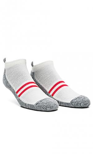 Носки patchwork Satisfy. Цвет: светло-серый
