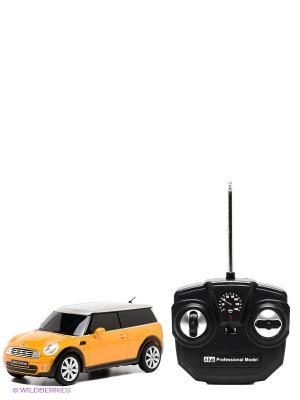 Машина р/у BMW MINI Clubman 1:18 с аккумулятором KAISER. Цвет: желтый