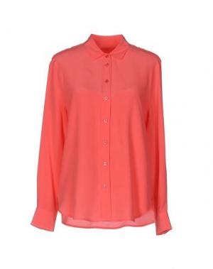 Pубашка EQUIPMENT FEMME. Цвет: коралловый