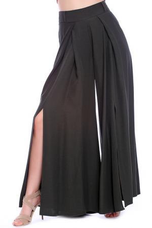 Брюки Emma Monti. Цвет: green