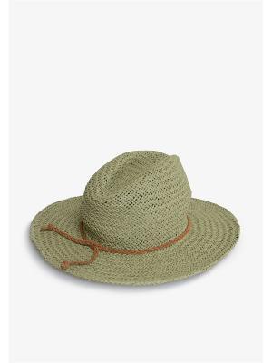 Шляпа ZARINA. Цвет: зеленый