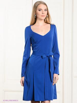 Платье Spicery. Цвет: синий