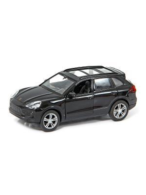 Машина металлическая Porsche Cayenne II Turbo 1:32. HOFFMANN. Цвет: черный