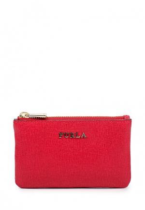 Ключница Furla. Цвет: красный