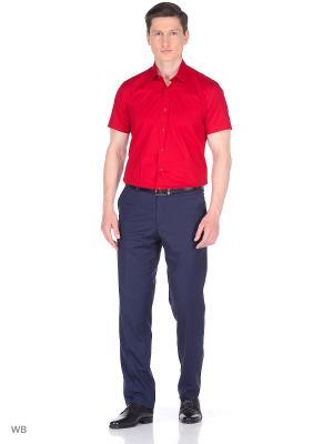Рубашка Corleone.. Цвет: бордовый