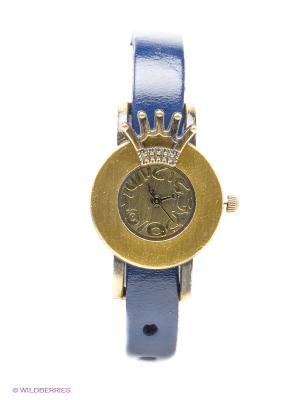 Часы Kawaii Factory. Цвет: темно-синий, золотистый