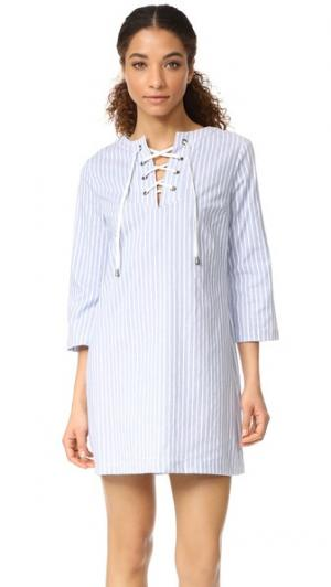 Платье Hannah RUKEN. Цвет: синяя/белая полоска