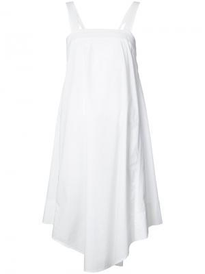 Платье с завязками на спинке Trina Turk. Цвет: белый