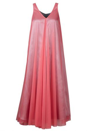 Платье Apart. Цвет: серый, розовый