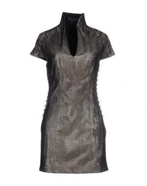 Короткое платье IRIS VAN HERPEN. Цвет: черный
