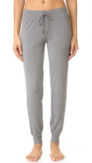 Домашние брюки PJ Salvage. Цвет: серый меланж
