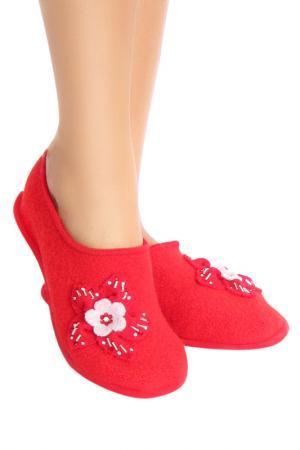 Носожки женские ILTANI design. Цвет: красный