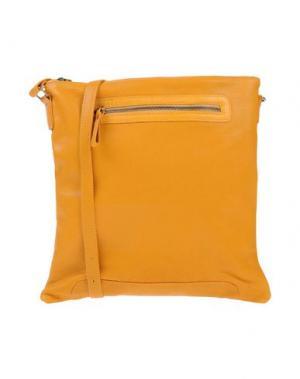 Сумка через плечо CORSIA. Цвет: оранжевый