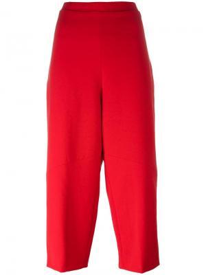 Укороченные брюки Federica Tosi. Цвет: красный