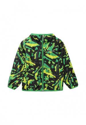 Куртка Columbia. Цвет: зеленый