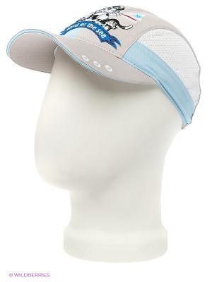 Бейсболка Maxval. Цвет: светло-серый, голубой