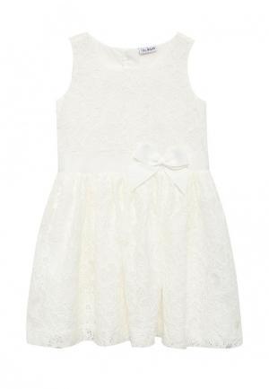Платье Blukids. Цвет: белый