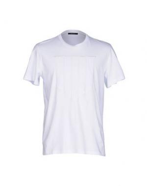 Футболка QASIMI. Цвет: белый