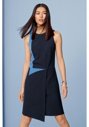 Платье Next. Цвет: синий