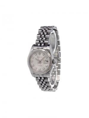 Аналоговые часы Datejust Rolex. Цвет: металлический