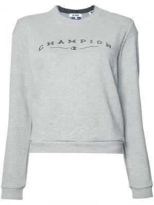 Свитер Champion Re/Done. Цвет: серый