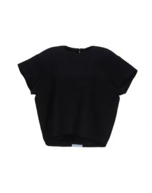 Блузка MARTA MARTINO. Цвет: черный