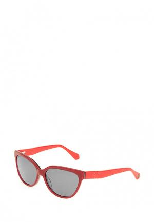 Очки солнцезащитные Enni Marco. Цвет: коралловый