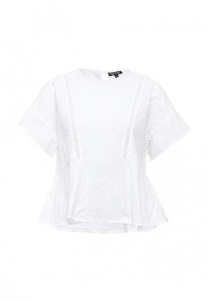 Блуза Topshop. Цвет: белый