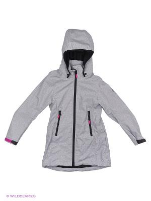 Куртка Reima. Цвет: светло-серый