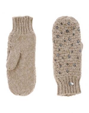 Перчатки BARTS. Цвет: песочный
