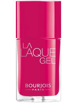 Гель-лак для ногтей LA LAQUE GEL, Тон 06 Bourjois. Цвет: фуксия