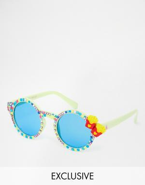 Spangled Солнцезащитные очки Double Fries Please
