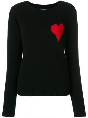 Джемпер Confetti Heart Chinti & Parker. Цвет: чёрный