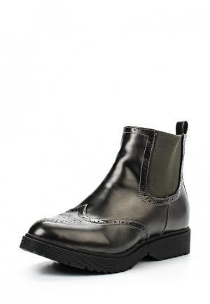 Ботинки Spot On. Цвет: серый