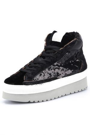 Ботинки SOYA FISH. Цвет: черный