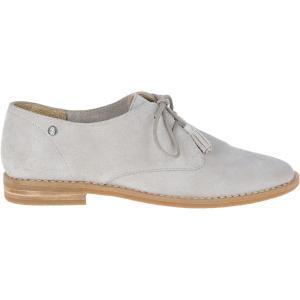 Ботинки-дерби из замши Oxford HUSH PUPPIES. Цвет: серый