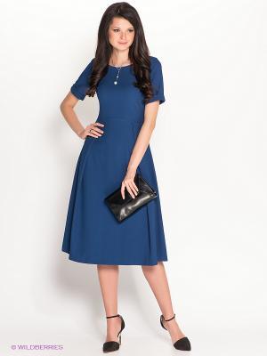 Платье Personage. Цвет: синий